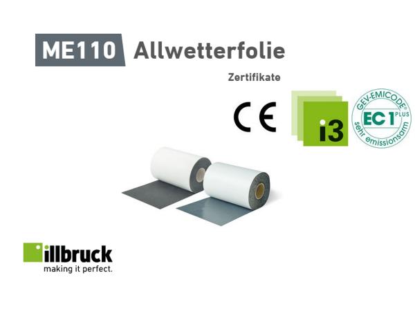 Allwetterfolie ME110 von illbruck, 80x1.0, 1 Meter