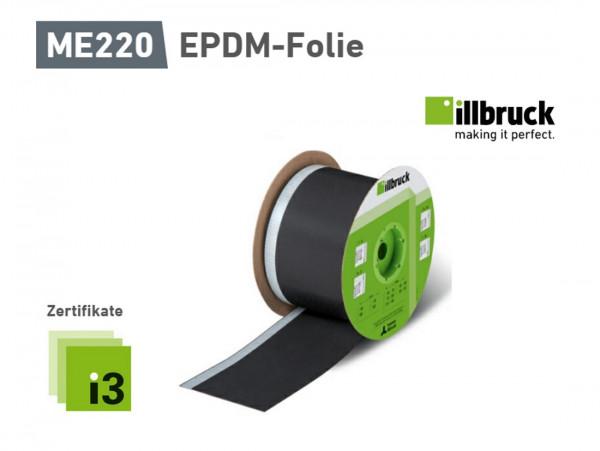 1 Meter ME220 EPDM-Folie von illbruck, 100x0,75 1SK